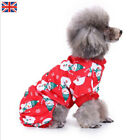 Pet Dog Puppy Cat Clothes Christmas Xmas Costume Funny Cute Dress Party Cosplay
