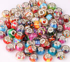 20x Random Mixed Big Hole(5mm) Loose European Beads Fit for DIY Jewelry Charms