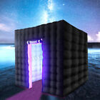 2.8/3M Inflatable LED Light Photo Booth Tent Birthday Christmas Party Control