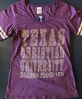 Texas Christian University Horned Frogs TCU Shirt ladies Creative Apparel