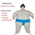 Inflating Sumo Wrestler Self Suit Inflatable Fancy Dress Outfit Stag Hen Costume