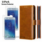 For Samsung Galaxy J3 Achieve/Star/Aura/Express Prime 3 Wallet Card Case Cover
