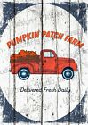 Farm Pumpkin Patch Sign Autumn Decor Wall Decor Pumpkin Picture Chic Garden