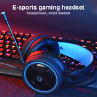 6DFD Microphone 3.5MM Stereo Internet Cafes Gaming Headset Laptop Tablet
