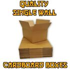 QUALITY SINGLE WALL POSTAL MAILING CARDBOARD BOXES FREE P+P - MULTILISTING