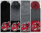 Cleveland Indians Pom pom Beanie ~Knit Hat ~CLASSIC MLB PATCH/LOGO ~Cool ~NEW on Ebay