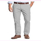 Tommy Hilfiger Chino Pants Mens Tailored Fit Flat Front Flag Logo VARIETY