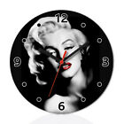 Marilyn Monroe Wall Clock Home Office Room Decor Gift Round