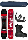 2019 FLOW VERT 151cm Mens Snowboard+Flow Bindings+Flow BOA LTD Boots+BAG NEW