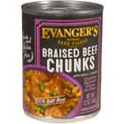 Evanger's Hand Packed Grain Free Braised Beef Chunks with Gravy Canned Dog Food