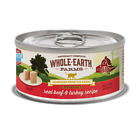 Whole Earth Farms Grain Free Real Beef and Turkey Pate Canned Cat Food