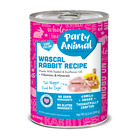 Party Animal Grain Free Wascal Rabbit Recipe Canned Dog Food