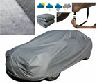 S/M Full Car Cover Protection for All Weather Waterproof Breathable Dustproof B2