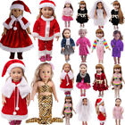 Doll Clothes Dress Outfits Pajames For 18 inch American Girl Our Generation USA