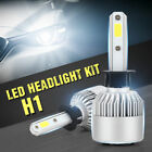 2x LED H4/H7/H11/9005/9006 Car Headlight Kit Fog Bulbs 1300W 195000LM 6000K FR2.
