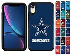 For Apple iPhone XR - ShockProof Official NFL Pebble Grain Hybrid Cover Case $19.49 USD on eBay