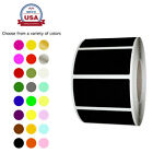 Color Coded Stickers 40mm X 19mm Rectangular 1.57 X 0.75 Inch Labels Writable