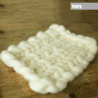Mat Chunky Knitted Door Mat Carpet Throw Area Rug Thick Yarn Arm Knit Blanket