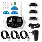 NEW Wireless Electric Dog Pet Fence Containment System Transmitter Collar BE