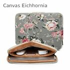 "Macbook Bags Laptop Sleeve Air Pro Canvas Cover Zipper Liner Print Case 11"" 17"""