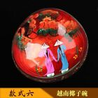 Storage Bowl Vietnam Coconut Shell Bowl Hand Painted Disc Containing Candy Box