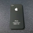 New Battery Back Cover For iPhone 4/4S Rear Glass Door Replacement Black/White