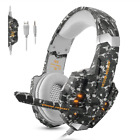Stereo Gaming Headset for PS4,  Xbox One,  PC,  Professional 3.5mm Noise Isolation