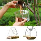 Wild Bird Feeders Squirrel Proof Hanging Feeder Food Garden Outdoor Anti-Scatter