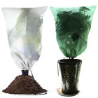 3x Plant Cover Frost Protection Drawstring Bags Dwarf Trees Flowers ProtectionUS