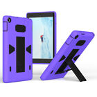 For Amazon Kindle Fire HD 8 2018 8th Gen Shockproof Hybrid Rubber Stand Case
