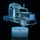 Remote&Touch Control 3D LED Night Light Car Series Color Change  LED Table Lamp