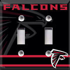Football Atlanta Falcons (Black) Themed  Light Switch Cover Choose Your Cover $6.99 USD on eBay