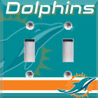 Football Miami Dolphins Themed Light Switch Cover Choose Your Cover on eBay
