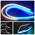 Ultra Thin Drl Car Tube Led Strip Daytime Running Light Headlight Eyebrow Light