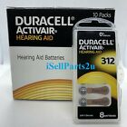 Внешний вид - New Duracell Hearing Aid Batteries Size 312 Fast shipping Choose from 32 to 240