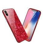 Luxury Marble Tempered Glass Case Cover For Apple iPhone X XS XR Max 10 8 7 6s 6 <br/> 3D Marble Glass Series✅Exclusive Premium Design✅Sale✅