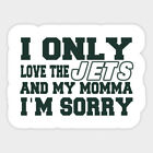 New York Jets vinyl sticker for skateboard luggage laptop tumblers car h on eBay