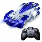 Remote Control Wall Climbing RC Car with LED Light 360 Degree Rotating Stunt Toy