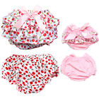 Внешний вид - Toddler Baby Girl Cotton Ruffle PP Pants Underwear Bloomers Diaper Nappy Cover