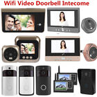 WiFi Wireless Video Doorbell Smart PIR Phone Bell Home Security HD Night Camera
