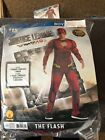 Halloween Costume Boy's Justice League The Flash Small or Medium NEW
