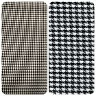 "Houndstooth / Dog Tooth PolyViscose Suiting Fabric - 59"" (150cm) Wide -per metre"