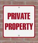Private Property .040 Metal Aluminum Sign