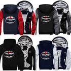 New warm Thicken TRIUMPH MOTORCYCLE Hoodie Jacket Unisex Sweater fleece coat $28.00 CAD on eBay
