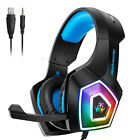 Kyпить Hunterspider V1 Stereo Bass Game Gaming Headset for PS4 Slim Pro Xbox One PC Mic на еВаy.соm