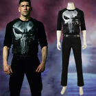 Used, Marvel The Punisher Frank Castle Daredevil Skull Ghost Full Suit Cosplay Costume for sale  China