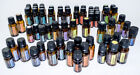 Lot of Empty Assorted 5 mL and 15 mL Amber doTERRA Essential Oil Bottles