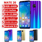 "6,1"" Touch Android 8.0 Mobile Smart Phone Octa Core Dual Sim 4g+64gb Mobile"