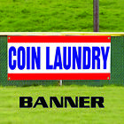 Coin Laundry Laundromat Self Service Business Outdoor Vinyl Banner Sign