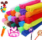 Kyпить 100PCS Chenille Craft Stems Pipe Cleaners Educational Toys Twisting Rods Kids на еВаy.соm